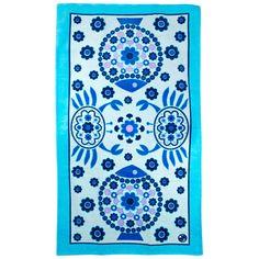 Jonathan Adler Elsie Blue Beach Towel @Patricia Taylor Door #zincdoor #jonathanadler