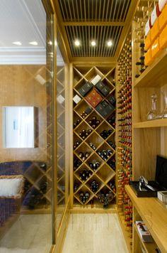 by ana maria vieira santos Caves, Armoire Bar, Wine Furniture, Home Wine Cellars, Wine Cellar Design, Wine Vineyards, Cigar Room, Wine Time, Wine Storage
