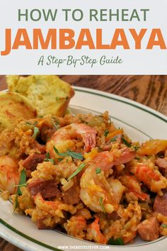 Find out the right way to reheat Jambalaya, with this quick, step-by-step guide that showcases the best options available. Find out why microwave, oven and stovetop are all good options to consider when reheating jambalaya leftovers. #jambalaya #reheatfood #cookingtips Jambalaya, Microwave Oven, Step Guide, Cooking Tips, Sweet Treats, Curry, Favorite Recipes, Meat, Chicken