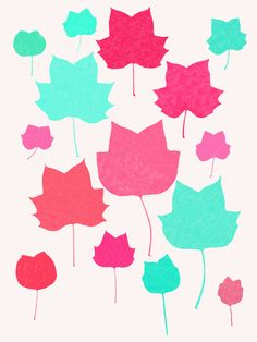 Mapleleaf 2 - Art Print by Garima Dhawan/Society6