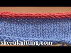 How to Knit I-cord Bind Off Tutorial 7 Method 12 of 12 Different Bind-Offs - YouTube