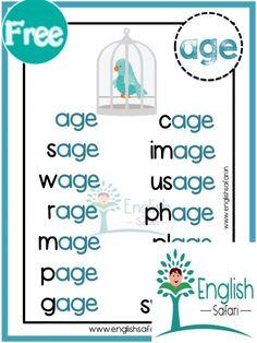 Preschool Literacy, Teaching Phonics, Kids Learning Activities, Teaching Reading, Phonics Chart, Phonics Blends, Phonics Worksheets, Reading Intervention Activities, Magic E Words