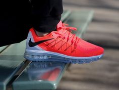 Nike Air Max 2015 Bright Crimson On Foot Sneaker Review