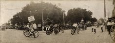 Check out this old parade on the square! #ThrowbackThursday