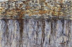 Rock Wall by Connie Miller Oil ~ 24 x 36
