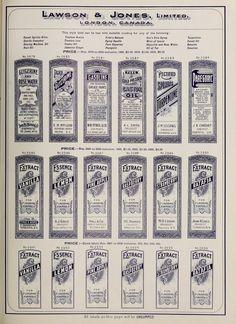 Free Sheet of Vintage Druggist Labels