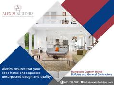 Hamptons Custom Home Builders and General Contractors - Alexim ensures that your spec home encompasses unsurpassed design and quality. Contact us by sending a message on whatsapp and we will contact you 631.287.0891 #alexim #aleximbuilders #bridgehampton #modern #renovation #southampton #easthampton #hampton #beach #exterior #builders #newbuild #interior #interiordesign Hamptons New York, Hamptons House, Hampton Beach, East Hampton, Custom Home Builders, Custom Homes, Home Developers, General Contractors, New Home Construction