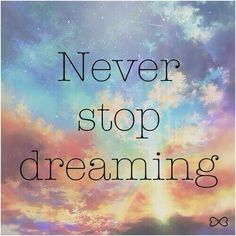 Never ☺