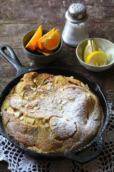 Eplepannekake Crepe Cake, Mille Crepe, Beautiful Cakes, No Bake Cake, Cake Recipes, Sweet Tooth, Brunch, Goodies, Yummy Food
