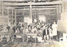 Adult Education and Handicraft Classes sponsored by Ambiong SWA-V-Corps, Ambiong Barrio School Ambiong, La Trinidad, Benguet 1950s