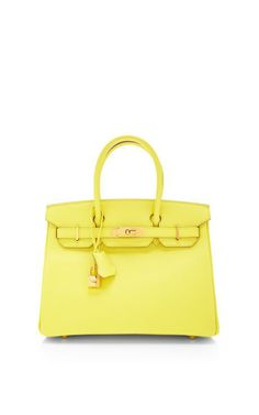 Hermes 30Cm Souffre Epsom Leather Birkin by Heritage Auctions Special Collections for Preorder on Moda Operandi