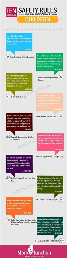 10 Safety Rules Your Child Should Know