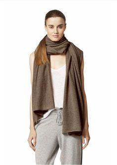 The linus 100% Cashmere scarf wrap by 360 cashmere makes the perfect gift. One size fits all. 30% off at Paula & Chlo's Cyber Sunday / Monday Sale.