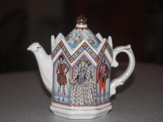 James Sadler Queen Elizabeth I Queen of England 1558 1603 Teapot