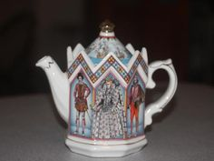 James Sadler Queen Elizabeth I Queen of England 1558 1603 Teapot