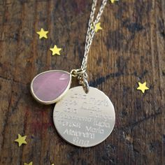 Collar Sweet Dreams ideal para regalar a los profes!. Sweet Dreams necklace ideal gift for the teachers!