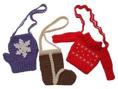 Maggie's Crochet · Bundle Up Little Purses