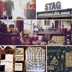 Stag, a mens general store