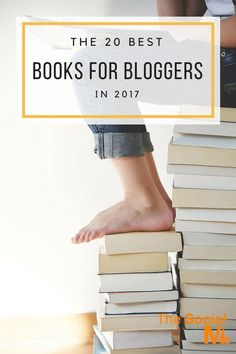 The best books for bloggers that we found helpful and entertaining. These are the best books to get you started with blogging and on the track to success. blogging tips, how to start a blog, blog marketing, blog traffic