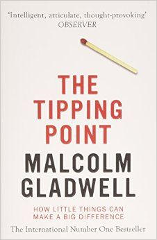 The Tipping Point Malcolm Gladwell is an alternative thinker. Always looking for a different way of interpreting the seemingly-obvious. The tipping point examines the conditions that can cause something to go from  a fad to a phenomenon. Great for business thinking.