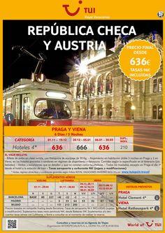 República Checa y Austria - Praga y Viena. Precio final desde 636€ ultimo minuto - http://zocotours.com/republica-checa-y-austria-praga-y-viena-precio-final-desde-636e-ultimo-minuto/
