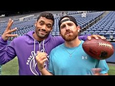 Russell Wilson, Pete Carroll produce trick-shot video with Dude Perfect