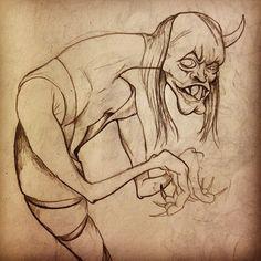 From my Instagram: @bokaier. Freaky hand monster.