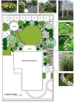 Projekt małego ogrodu