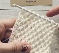 Good Images Tunisian Crochet videos Strategies Knitting like a web fluffy stitch Tunisian Crochet Patterns, Knit Or Crochet, Crochet Crafts, Crochet Projects, Free Crochet, Knitting Patterns, Diy Crafts, Crochet Flower, Easy Crochet