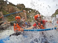 Spring rafting at its finest! Come enjoy some thrilling #whitewaterrafting and we'll show you why #whitewater is the best water. #raftecho #summer2016