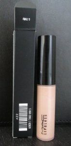 MAC LipGlass Lip Gloss C-Thru by M.A.C. $11.98. New in Box. **No U.S. Sale Tax** C-Thru. Lips / Lip Gloss. MAC Lip Gloss Lipglass. MAC Lipglass C-Thru A high-gloss, glass-like finish or soft sheen look. Can be worn alone or over lipstick of lip pencil to create a shine. Jojoba oil helps soften and moisturize the lips. Sponge applicator applies gloss easify for an even and smo