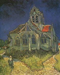 I believe this Van Gogh is in the Musee d'Orsay, or it was when I went.