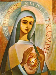 immaculate heart of mary fatima - Bing Images