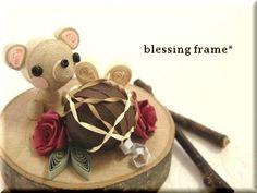 blessing frameのくいりんぐノート:続・クマ&チョコ