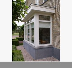 moderne erker - Google zoeken Door Canopy, Bay Window, Home Look, Home Crafts, My House, Building A House, Architecture Design, Pergola, Home And Family