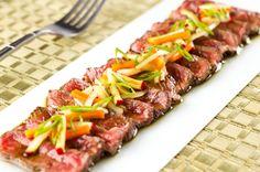 Beef Tataki Recipe Like for Good Healthy Recipes, Gourmet Recipes, Diet Recipes, Asian Recipes, Paleo Diet Meal Plan, Diet Meal Plans, Beef Tataki, Best Diet Foods, Easy Diets