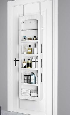 Small bathroom storage 239676011406101024 - 14 brilliant storage ideas for small spaces – Bathroom Storage Cabinet Source by catherinelaudo Door Storage, Diy Storage, Small Bathroom Storage, Small Space Bathroom, Small Bathroom, Amazing Bathrooms, Storage, Small Space Storage, Bathroom Decor