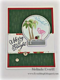 If You Bling It: Check Out the Close to My Heart Christmas Card Blog Hop