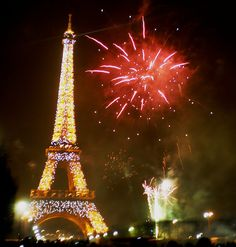 New Years Eve in Paris.