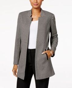 5c4b8fb2 Kasper Herringbone Blazer & Reviews - Jackets & Blazers - Women - Macy's