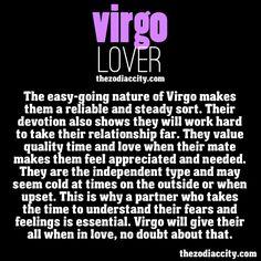 The Virgo lover.
