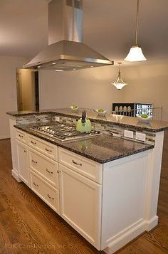 6ft White Kitchen Island w/o counter top with cooktop/sink space HOU-135. in Home & Garden, Kitchen, Dining & Bar, Kitchen Islands & Carts | eBay