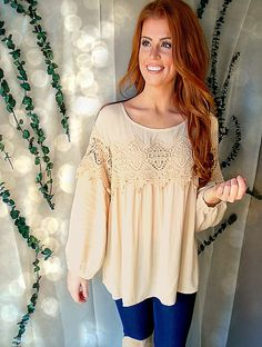 ShopCoco'sOnline.com $28 Sweet Caroline Blouse