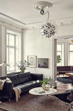 This Stunning Euro Apartment Keeps Its Classic, Goth Beauty