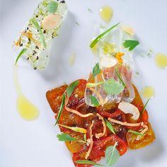 Tomatoes Aloe Vera #tartuffo #repost #mywork #food #foodies #chef #chefs #cheflife #vegetablegarden #passion #cook #cooking #truecooks #truecook #theartofplating #pleasure #chefsofinstagram #restaurant #thailand #bangkok #myhome by chefpoirotbkk