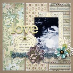 A Project by Julia S from our Scrapbooking Gallery originally submitted 02/10/10 at 01:51 PM