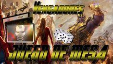 JUEGO de MESA inspirado en VENGADORES | Te Digo Cómo Diy Games, Decir No, Board Games, The Avengers, Invitation Cards, Recycling, The Originals, Cases, Invitations