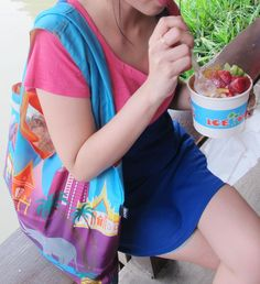 #LOQI #tote #bags in #Thailand!