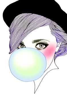 lawyers in yarmulkes • soulist-aurora: Bubble Gum Girl by Hajin Bae
