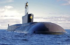 Alexander Nevsky, The second Borei class submarine in service with the Russian Navy strategic force.